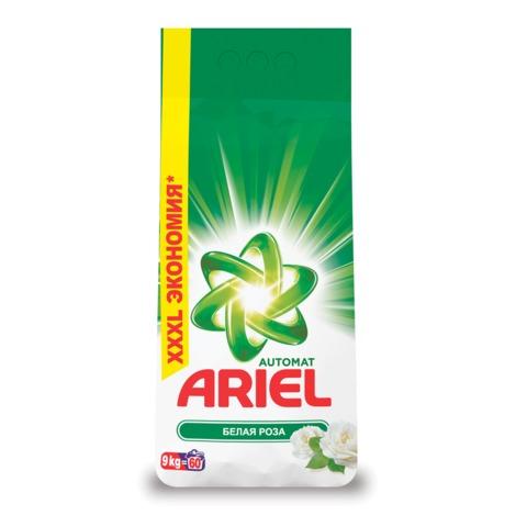 """Стиральный порошок-автомат 9 кг, ARIEL (Ариэль) """"Белая роза"""""""