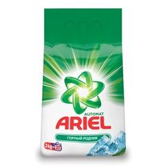 """Стиральный порошок-автомат 3 кг, ARIEL (Ариэль) """"Горный родник"""""""