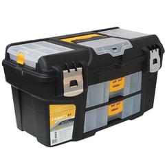 """Ящик для инструментов """"Гефест"""", 21"""", 28х53х29 см, 3 бокса для мелочей, 2 выдвижные консоли, IDEA"""