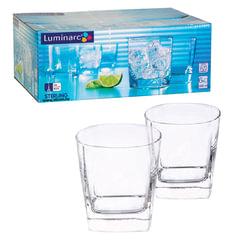 """Набор посуды """"Sterling"""", стаканы для сока/виски, 6 шт., 300 мл, низкие, стекло, LUMINARC"""