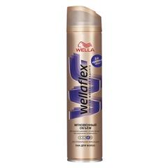 """Лак для волос 250 мл, WELLAFLEX (Веллафлекс) """"Мгновенный объем"""", экстрасильная фиксация"""