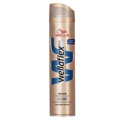 """Лак для волос 250 мл, WELLAFLEX (Веллафлекс) """"Объем до 2-х дней"""", экстрасильная фиксация"""