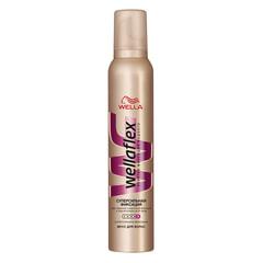 """Мусс для волос 200 мл, WELLAFLEX (Веллафлекс) """"Суперсильная фиксация"""""""