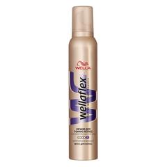 """Мусс для волос 200 мл, WELLAFLEX (Веллафлекс) """"Объем для тонких волос"""", суперсильная фиксация"""