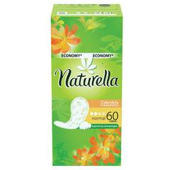 """Прокладки женские гигиенические на каждый день NATURELLA (Натурелла) """"Calendula Normal"""", 60 шт."""