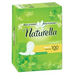 """Прокладки женские гигиенические на каждый день NATURELLA (Натурелла) """"Camomile Normal"""", 100 шт."""