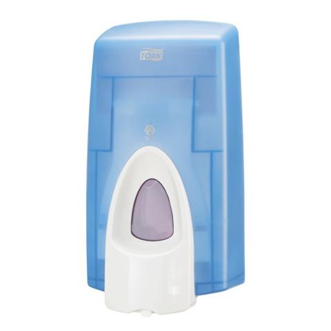 Диспенсер для жидкого мыла-пены TORK (Система S34), 0,8 л, синий, 470210
