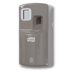 Диспенсер для аэрозольного освежителя воздуха TORK (Система А1), серый, электронный, 256055