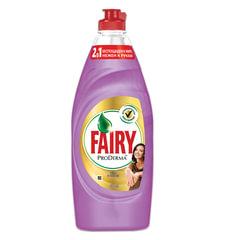 """Средство для мытья посуды 650 мл, FAIRY (Фейри) ProDerma, """"Шёлк и орхидея"""", для чувствительной кожи"""