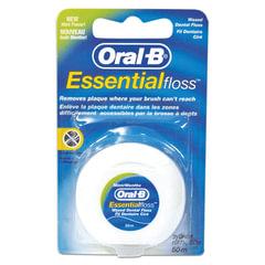 Зубная нить, 50 м, ORAL-B (Орал-Би) Essential floss, мятная