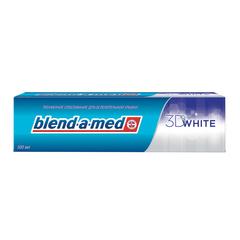 "Зубная паста, 100 мл, BLEND-A-MED (Бленд-а-Мед) 3D White ""Трёхмерное отбеливание"""