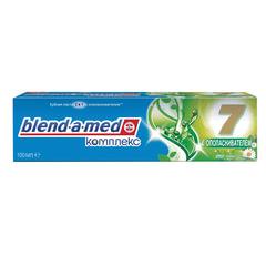 """Зубная паста, 100 мл, BLEND-A-MED (Бленд-а-Мед) Complete 7 """"Ополаскиватель+Травы"""""""