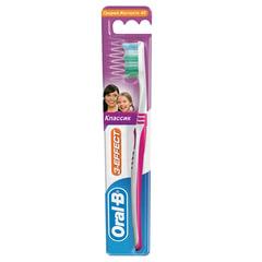 """Зубная щетка ORAL-B (Орал-Би) 3-Эффект """"Классик"""", средняя"""
