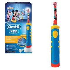 Зубная щетка электрическая детская ORAL-B (Орал-би) Kids Mickey D10, с 3 лет, картонная упаковка
