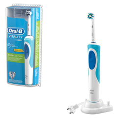 Зубная щетка электрическая ORAL-B (Орал-би) Vitality Cross Action D12.513, блистер