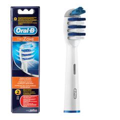 Насадки для электрической зубной щетки ORAL-B (Орал-би) TriZone EB30, комплект 2 шт.