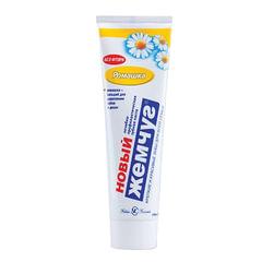 """Зубная паста, 100 мл, НОВЫЙ ЖЕМЧУГ """"Ромашка"""", комплексная защита десен, с натуральным экстрактом ромашки"""