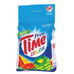 Стиральный порошок-автомат, 3 кг, FREE TIME (Фри Тайм) Color (Нэфис Косметикс)
