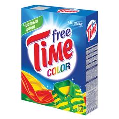 Стиральный порошок-автомат, 350 г, FREE TIME (Фри Тайм) Color (Нэфис Косметикс)