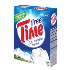 """Стиральный порошок-автомат, 350 г, FREE TIME (Фри Тайм) """"Для белого"""" (Нэфис Косметикс)"""
