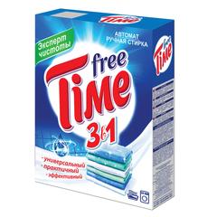 """Стиральный порошок для всех типов стирки, 350 г, FREE TIME (Фри Тайм) 3 в 1 """"Универсал"""" (Нэфис Косметикс)"""