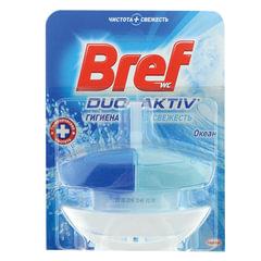 "Освежитель WC (для туалета) жидкий, 50 мл, BREF (БРЕФ) Дуо-Актив ""Океан"""