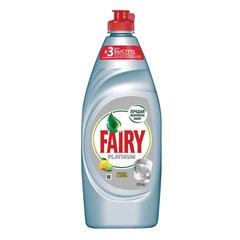 """Средство для мытья посуды, 650 мл, FAIRY (Фейри) Platinum """"Лимон и лайм"""""""