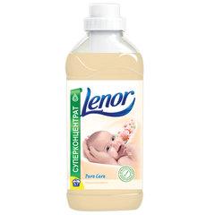"""Кондиционер-ополаскиватель для белья, 2 л, LENOR (Ленор), """"Миндальное масло"""", концентрат"""
