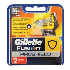 """Сменные кассеты для бритья GILLETTE (Жиллет) """"Fusion ProShield"""", 2 шт., для мужчин"""