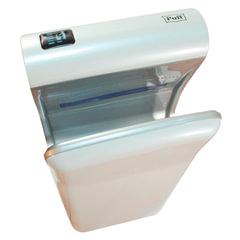 Сушилка для рук PUFF 8870, 2000 Вт, скорость потока 90 м/с, погружного типа, пластик, белая