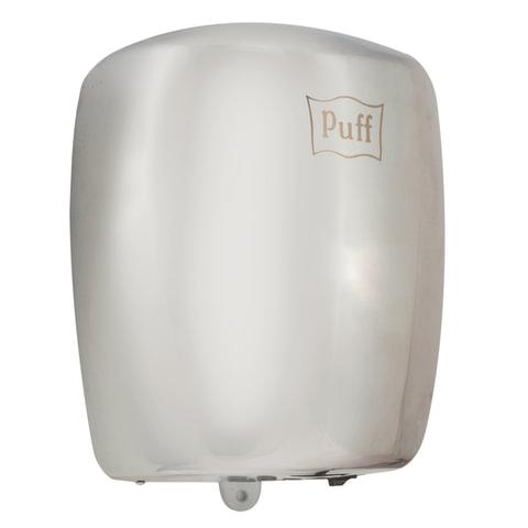 Сушилка для рук PUFF 8887, 1200 Вт, скорость потока 30 м/с, пластик, серебристая