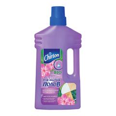"""Средство для мытья пола 1000 мл, CHIRTON (Чиртон), не содержит фосфатов, """"Утренняя роса"""""""