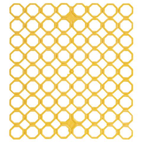 Сетка-решетка для раковины элластичная, прямоугольная, 29х26х0,5 см, цвет ассорти, YORK