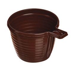 Одноразовая чашка, 180 мл, 1 шт., полипропилен (ПП), коричневая, для чая/кофе, СТИРОЛПЛАСТ