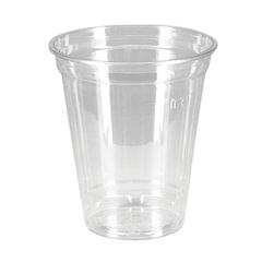 Одноразовый стакан, 300 мл, ПЭТ, прозрачный, для холодных напитков/десертов, СТИРОЛПЛАСТ
