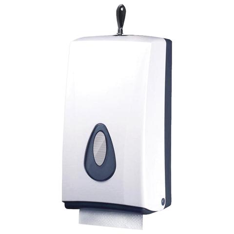 Диспенсер для туалетной бумаги KSITEX, листовой/в стандартных рулонах, белый, TH-8177A