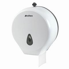 Диспенсер для туалетной бумаги KSITEX, mini, белый, бумага 124545, -546, 126092, -093, ТН-8002A