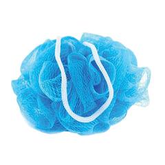 """Мочалка для тела, нейлон, 42 г (11х11х11 см), синяя, """"Шар Макси"""", TIAMO """"Original"""""""