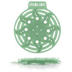 """Коврики-вставки для писсуара, ЭКОС (POWER-SCREEN), на 30 дней, комплект 2 шт., """"Сосна"""", цвет зеленый"""