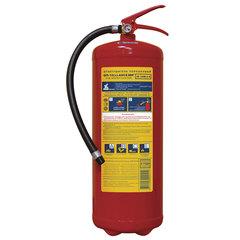 Огнетушитель порошковый ОП-10, АВСЕ (твердые, жидкие, газообразные вещества, элементы установки) МИГ