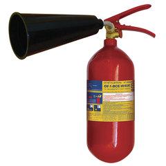Огнетушитель углекислотный ОУ-1, ВСЕ (жидкие и газообразные вещества, элементы установки), ИНЕЙ