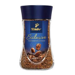 """Кофе растворимый TCHIBO """"Exclusive"""", гранулированный, 190 г, стеклянная банка"""
