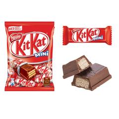 Шоколадные батончики KIT KAT с молочным шоколадом и хрустящей вафлей, 202 г