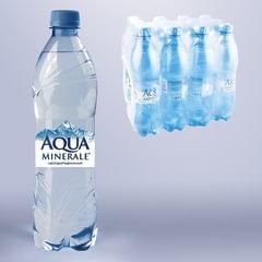 Вода негазированная питьевая AQUA MINERALE (Аква Минерале), 0,6 л, пластиковая бутылка