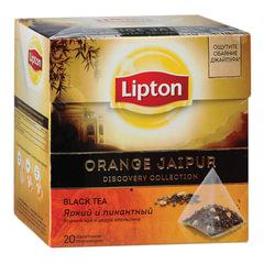 "Чай LIPTON (Липтон) ""Orange Jaipur"", черный, 20 пирамидок по 2 г"