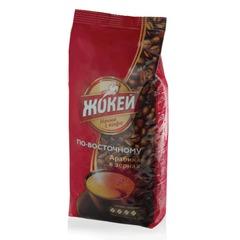 """Кофе в зернах ЖОКЕЙ """"По-восточному"""", 500 г, вакуумная упаковка"""