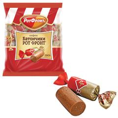 """Конфеты шоколадные РОТ ФРОНТ """"Батончики"""", 250 г, пакет"""