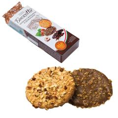 Печенье БИСКОТТИ (Россия) с фундуком, шоколадом и вафельной крошкой, сдобное, 100 г