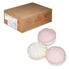 """Зефир """"Обожайка"""" бело-розовый, весовой, 3,5 кг, гофрокороб"""