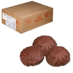 """Зефир """"Обожайка"""" ванильный в шоколадной глазури, весовой, 3,5 кг, гофорокороб"""